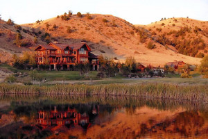 Grey Cliffs Ranch - private kennels onsite :: Unparalleled accommodations coupled w/5000 acres of private land, private chef and Madison River access, provide the ideal backdrop for a truly memorable Montana experience.