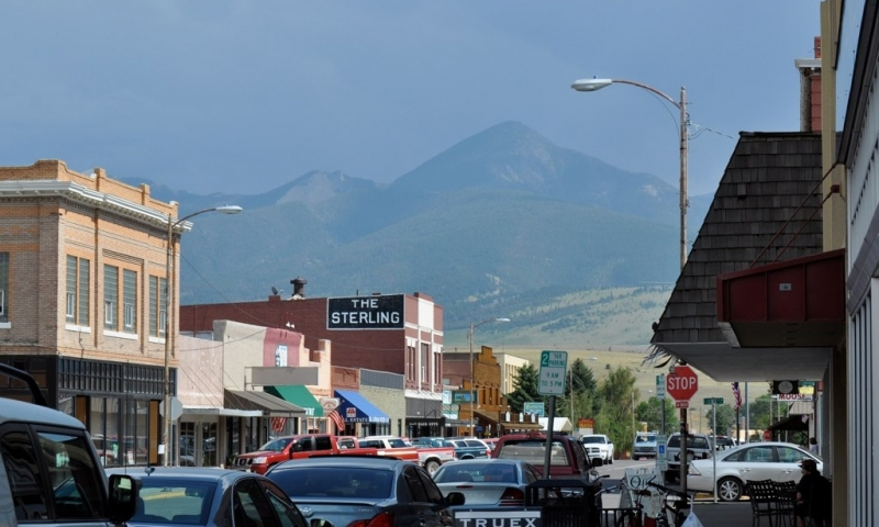 Downtown Livingston Montana